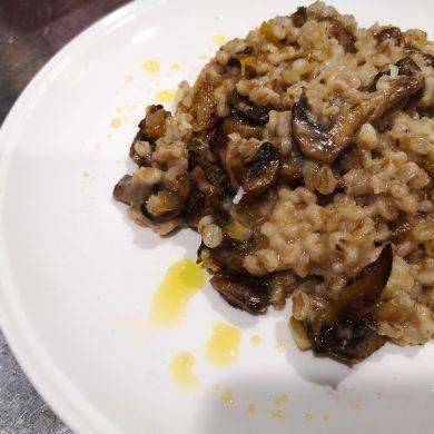 pearl barley preserved lemon risotto
