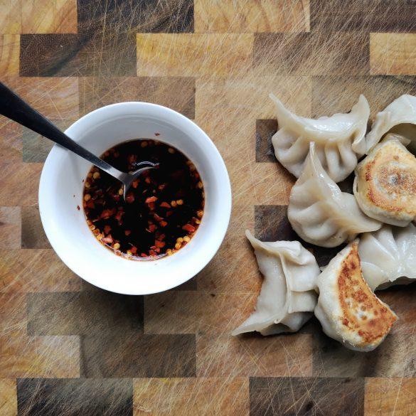 sauerkraut pork dumplings